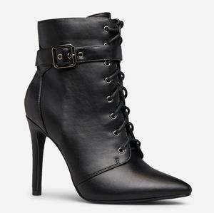 SOLD ON FB! NEW Black Booties Size 9